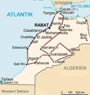 wetter agadir marokko